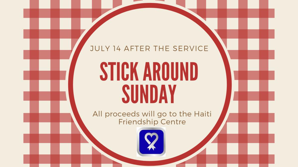 Stick Around Sunday